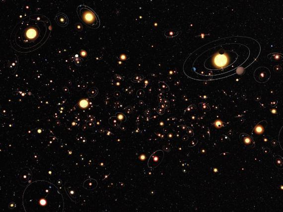 Οι 100 Δισεκατομμύρια Πλανήτες του Γαλαξία μας
