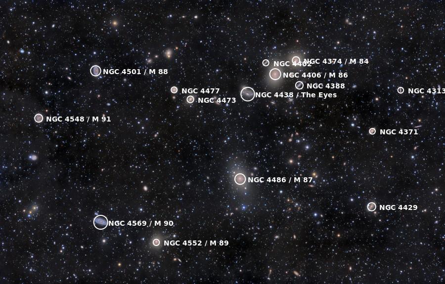 Σμήνος Γαλαξιών της Παρθένου