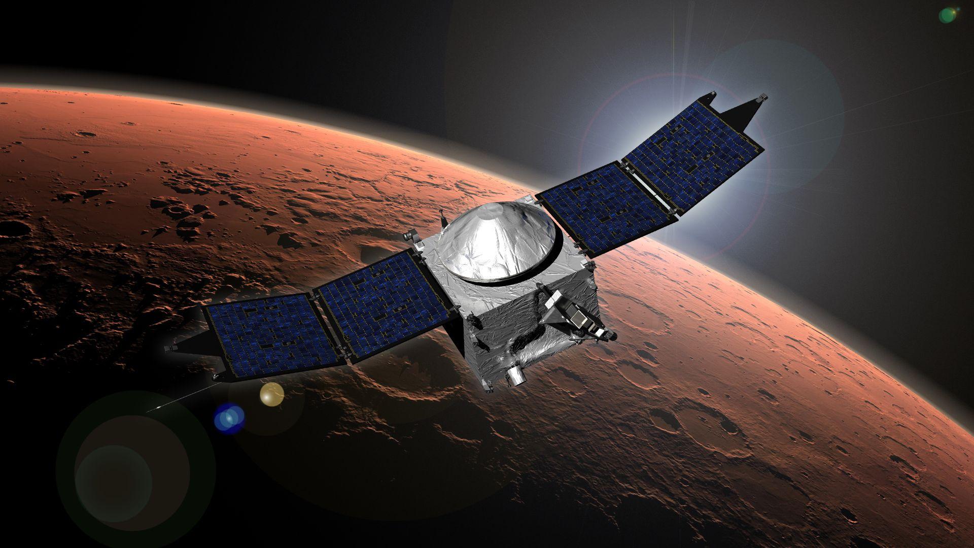 Το MAVEN Έφτασε στον Άρη
