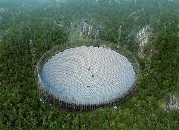 Η Κίνα Συναρμολογεί το Μεγαλύτερο Ραδιοτηλεσκόπιο