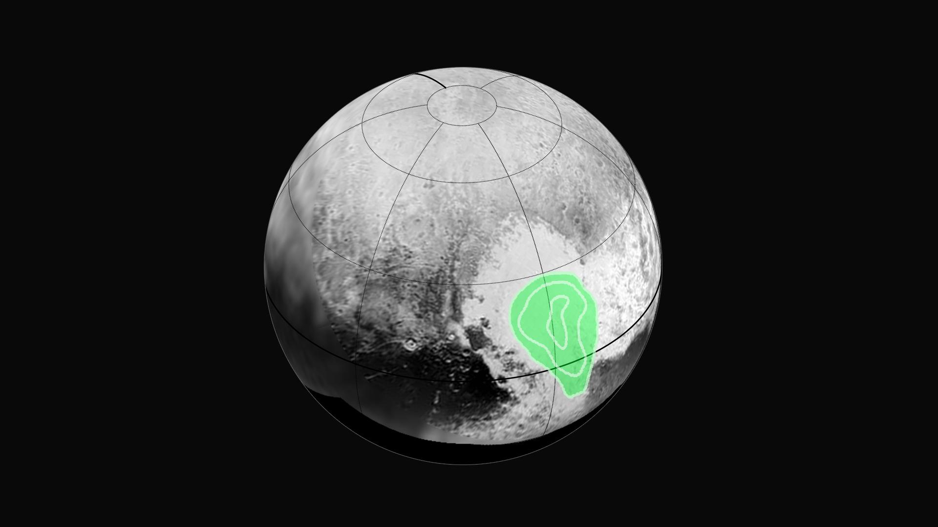 Παγωμένο μονοξείδιο του άνθρακα ανακαλύφθηκε στην «Καρδιά» του Πλούτωνα