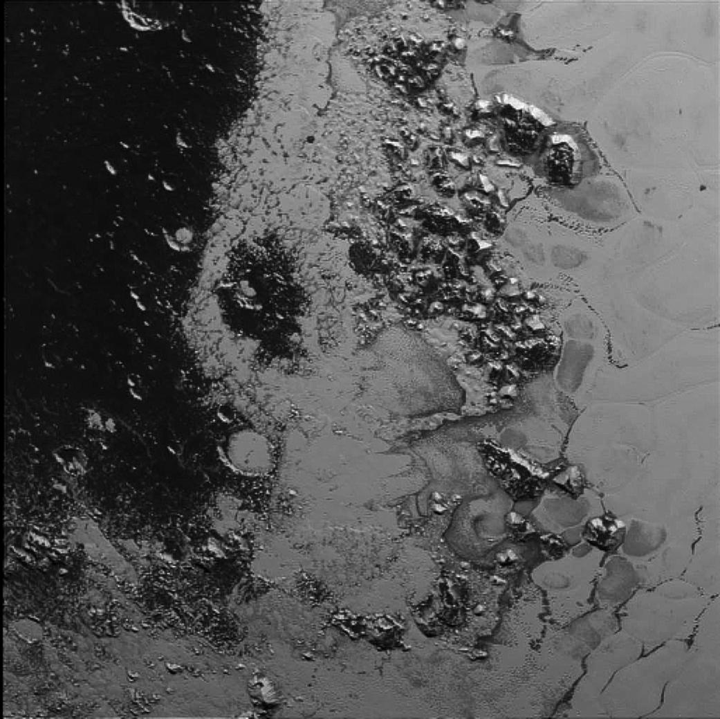 """Δεύτερη οροσειρά ανακαλύφθηκε στην """"καρδιά"""" του Πλούτωνα"""