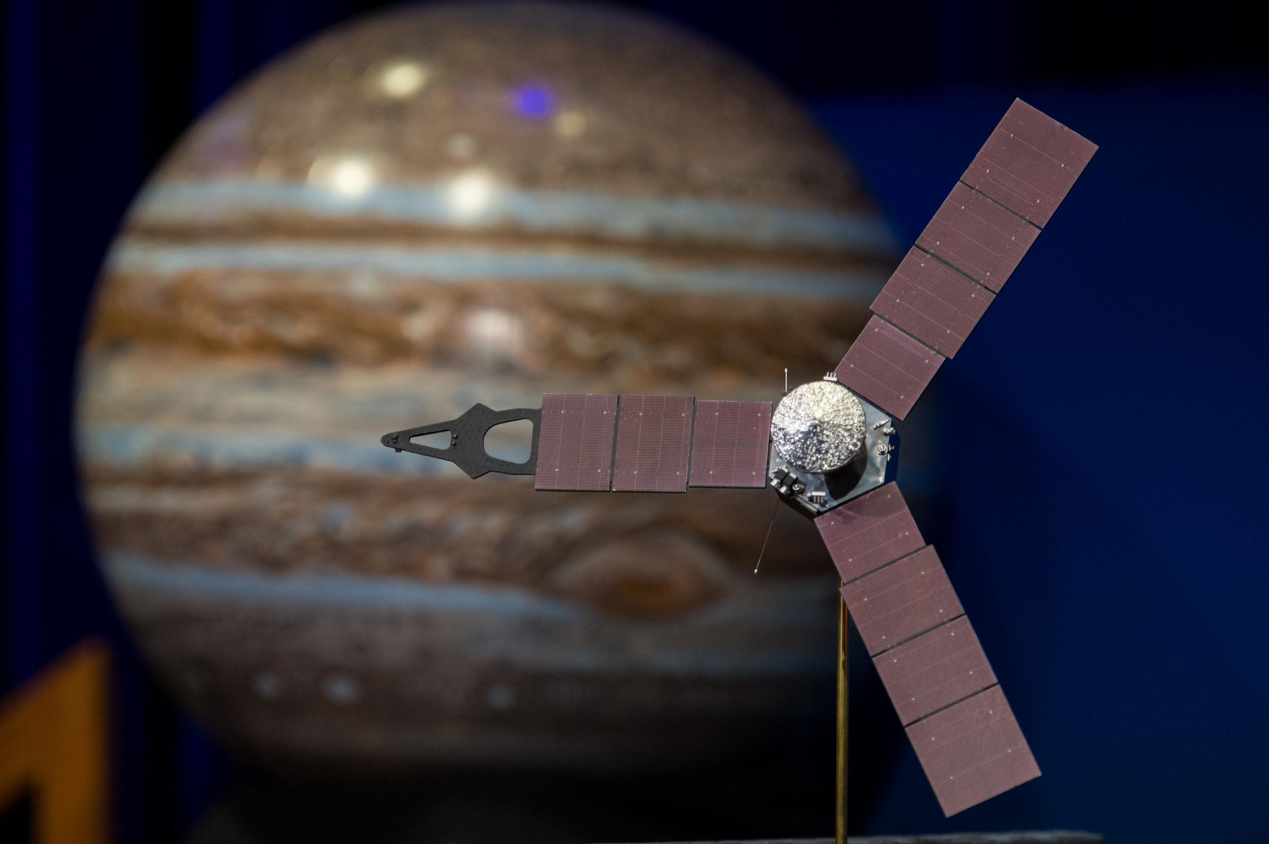 Μοντέλο του διαστημοπλοίου Juno