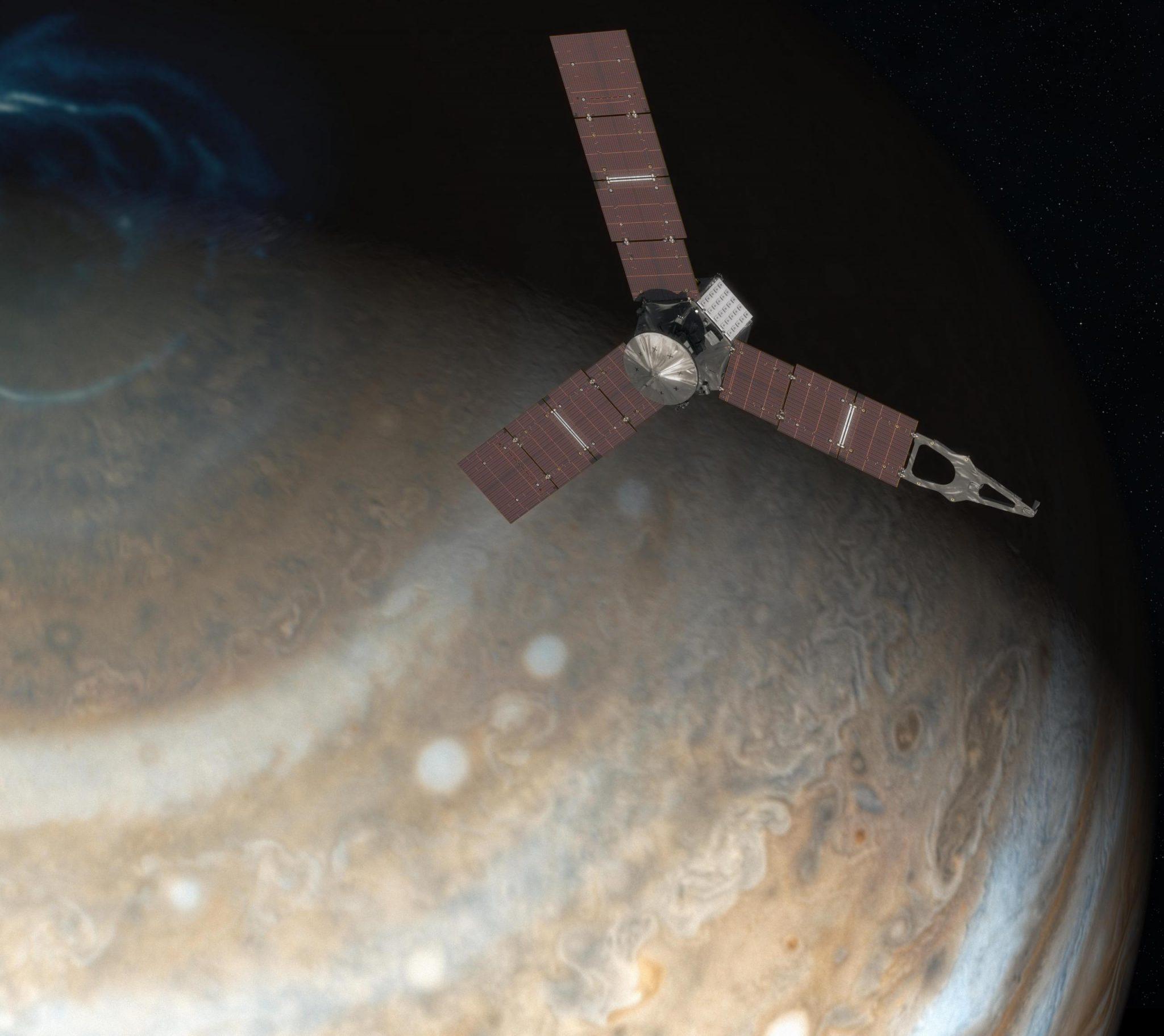 Το Juno Καταγράφει το «Βρυχηθμό» του Δία