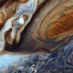 Η Μεγάλη Ερυθρά Κηλίδα του Δία όπως φάνηκε από το Voyager 1