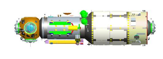 Tianhe-1, η μονάδα πυρήνας του Κινέζικου Διαστημικού Σταθμού (CMSA)