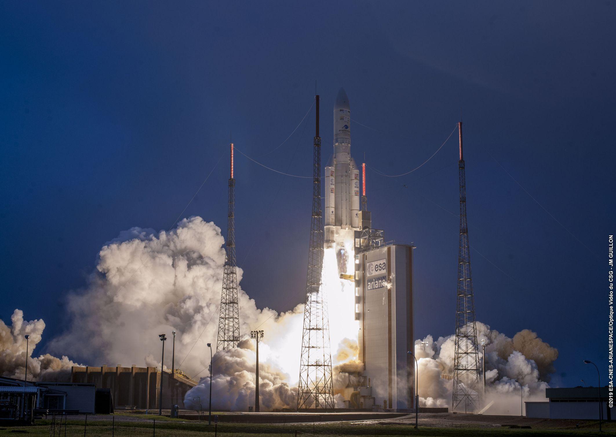 Επιτυχής Εκτόξευση του Hellas Sat 4