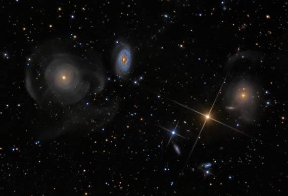 Γαλαξίες Κελύφη στους Ιχθείς