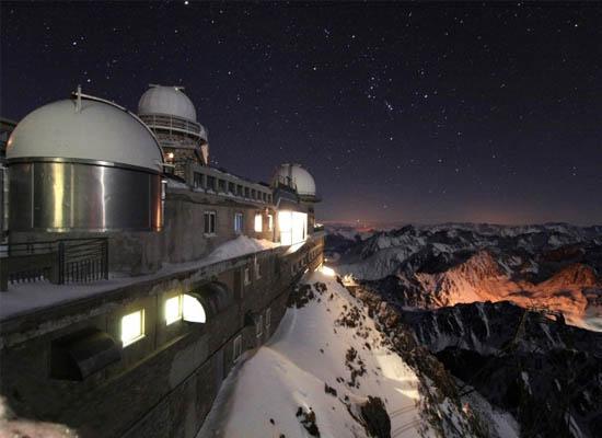 Χειμωνιάτικη Νύχτα στο Pic du Midi