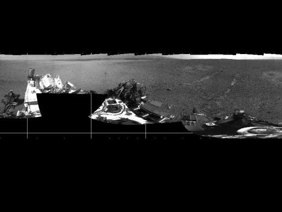 Τα Πρώτα Σημάδια Διαδρομής του Curiosity στον Άρη