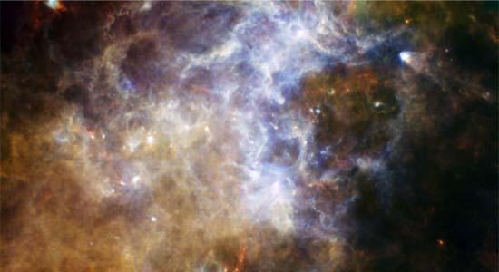 Ο Γαλαξίας από το Herschel