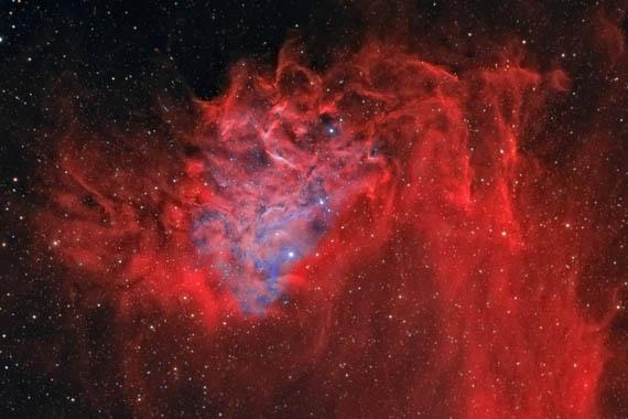 Το Νεφέλωμα των Φλεγόμενων Αστεριών