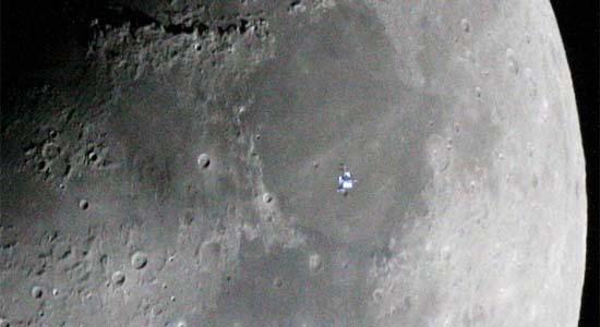 Ο Διαστημικός Σταθμός στη Σελήνη