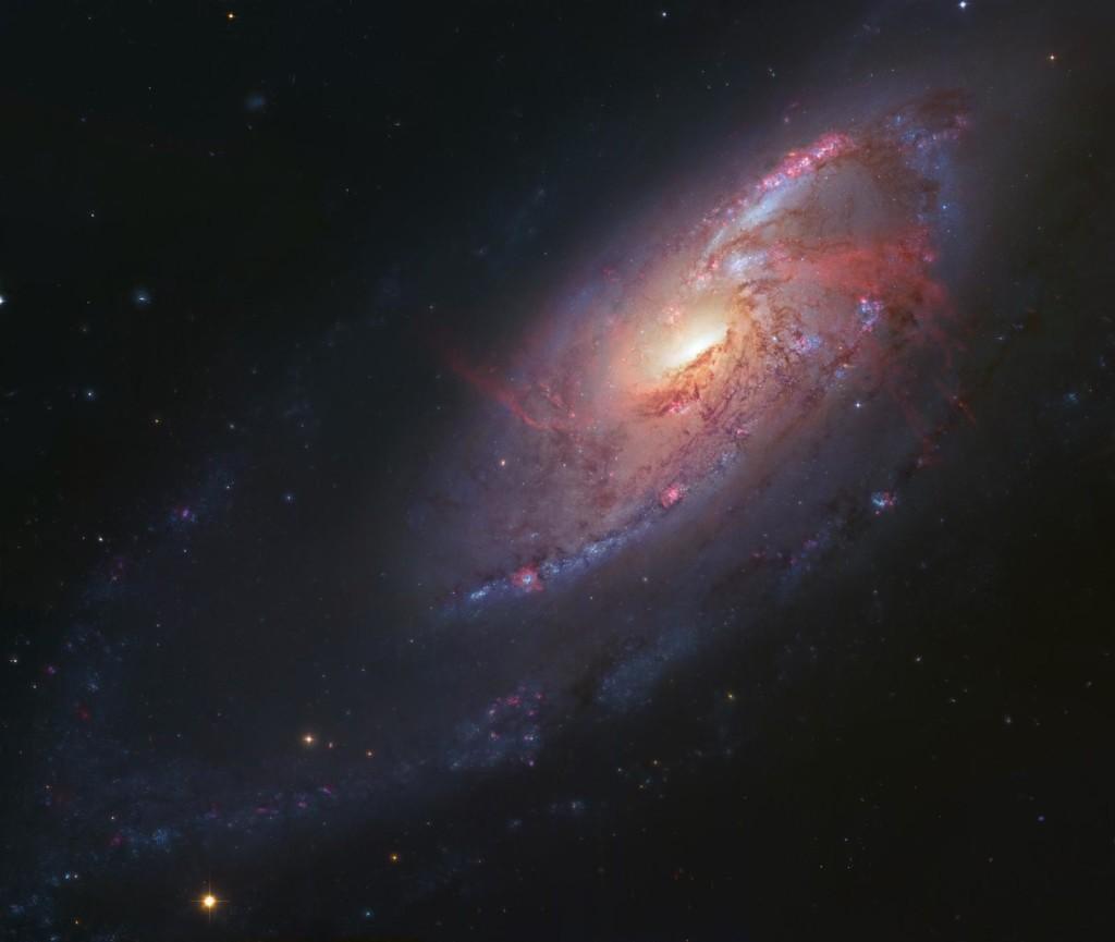 Οι Βραχίονες του M106