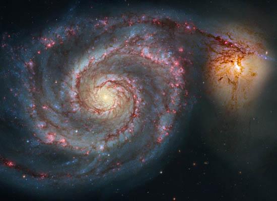 Ο Σπειροειδής M51