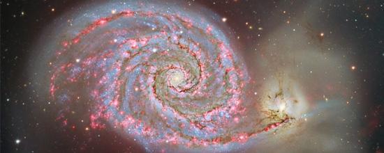 Το Υδρογόνο στον M51