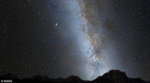 Πώς θα μοιάζει ο ουρανός όταν ο Γαλαξίας μας συγκρουστεί με την Ανδρομέδα