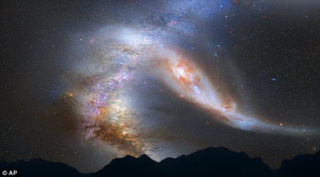 Ο γαλαξίας μας συγκρούεται με την Ανδρομέδα