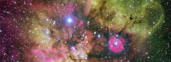 Το NGC 2467 και τα Περίχωρα του