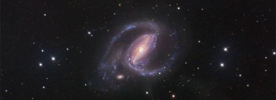 Τα Αέρια του NGC 1097