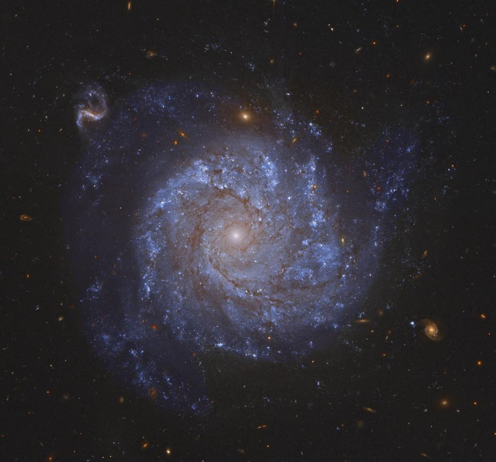 Σπειροειδής Γαλαξίας και Φίλοι