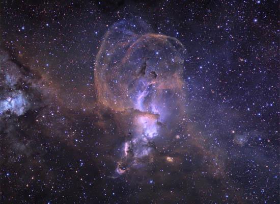 Το Νεφέλωμα NGC 3576