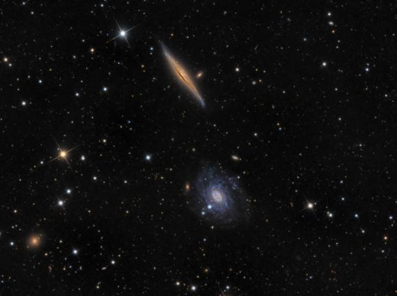 NGC 5965 και NGC 5963 στον Δράκο