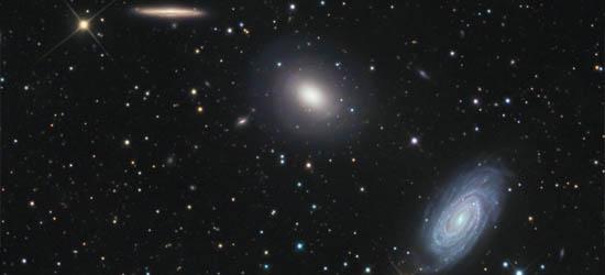 Γαλαξίες στο Δράκο