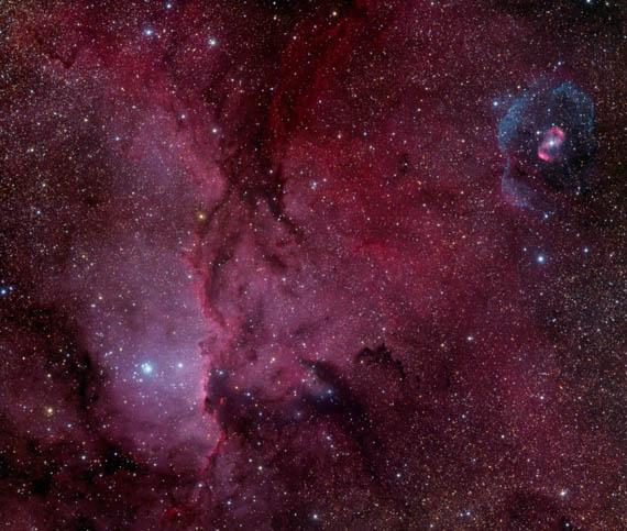 NGC 6188 και NGC 6164