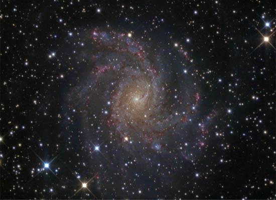 Ο Γαλαξίας των Πυροτεχνημάτων
