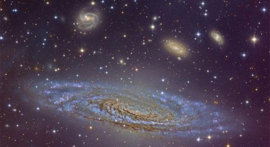Πανέμορφος Σπειροειδής NGC 7331