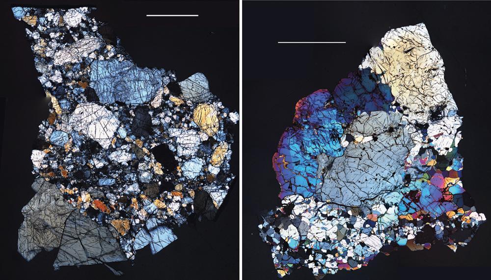 Πέτρες από τον Vesta