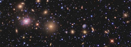 Οι Γαλαξίες του Σμήνους του Περσέα