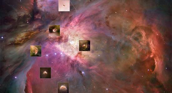 Πλανητικά Συστήματα Διαμορφώνονται στον Ωρίωνα