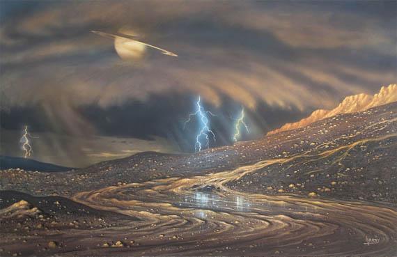 Βρέχει στον Τιτάνα