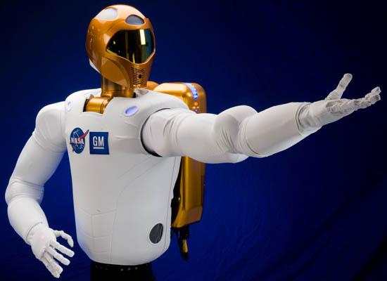Ο Robonaut Ξυπνά στο Διάστημα