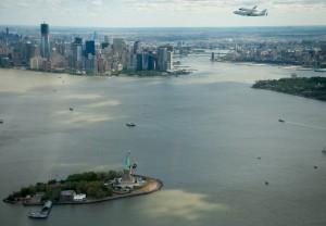 Shuttle Enterprise Flight to New York