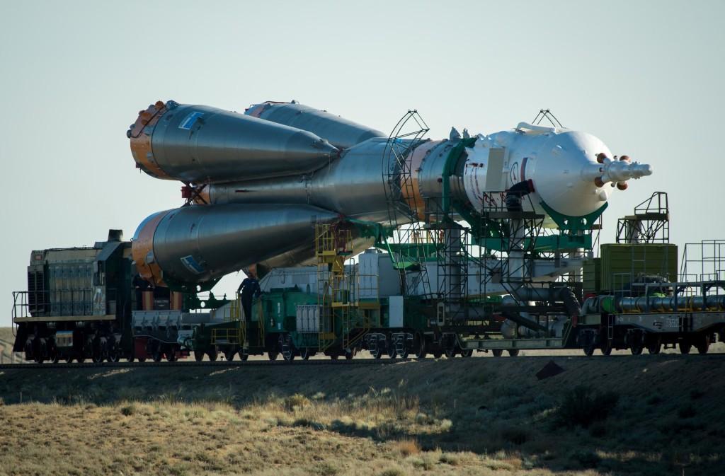 Το Soyuz στην Εξέδρα Εκτόξευσης