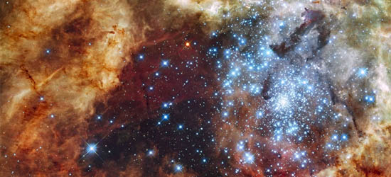 Το Σμήνος Αστέρων R136 Εκρήγνυται