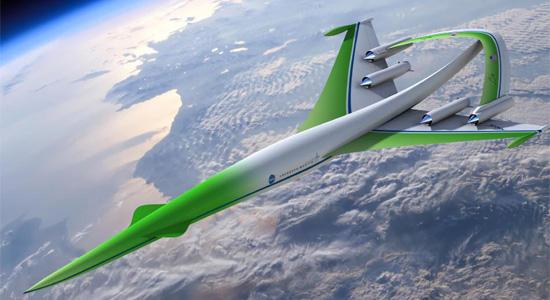 Υπερηχητική Πράσινη Μηχανή