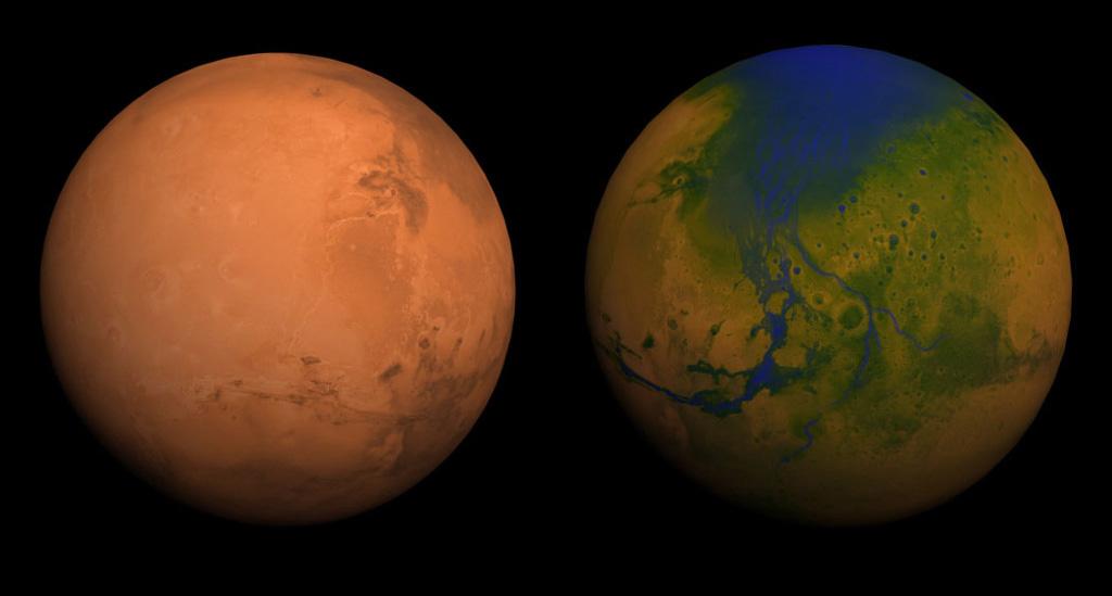 Ο Άρης Μετασχηματισμένος