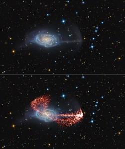 Γαλαξίας Ομπρέλα προσομοίωση