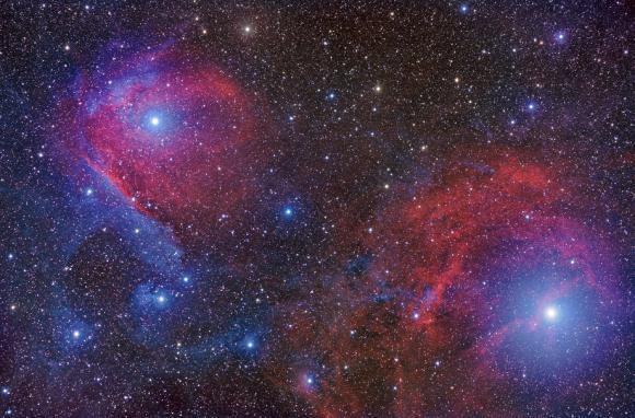 Ο Σκορπιός σε Κόκκινο και Μπλε