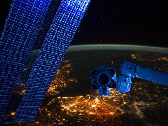 Η Δυτική Ευρώπη τη Νύχτα