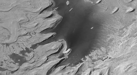 Αρχαίοι Πολυεπίπεδη Λόφοι στον Άρη