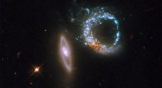 Διπλοί Δακτυλιοειδείς Γαλαξίες