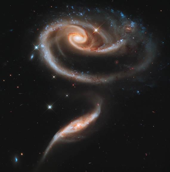 Οι Ιδιόμορφοι Γαλαξίες του Arp 273