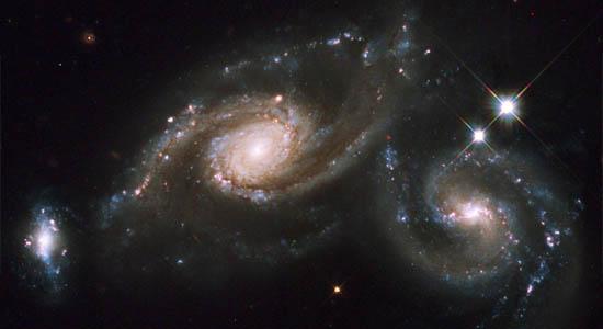 Συγκρουόμενοι Σπειροειδείς Γαλαξίες