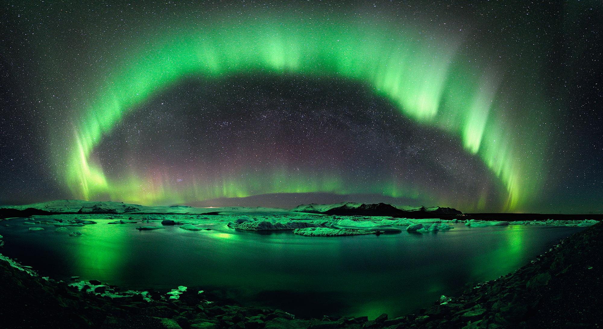 Ο έναστρος νυχτερινός ουρανός της