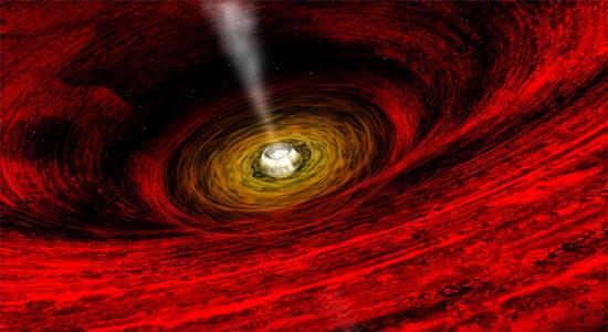Η Θέα Κοντά σε μια Μαύρη Τρύπα